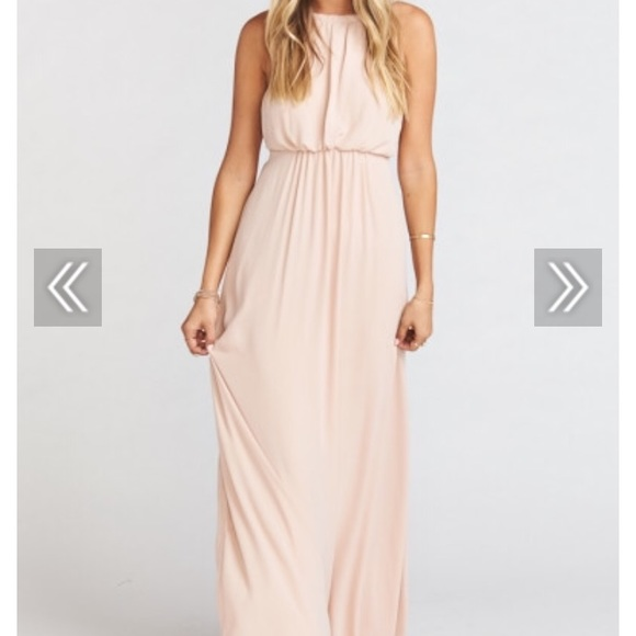 3468bc4f3391 Show Me Your MuMu Dresses | Dusty Blush Amanda Maxi Dress | Poshmark